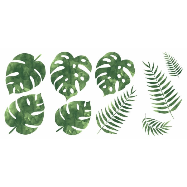 Palm Leaves Peel And Stick Wall Decals