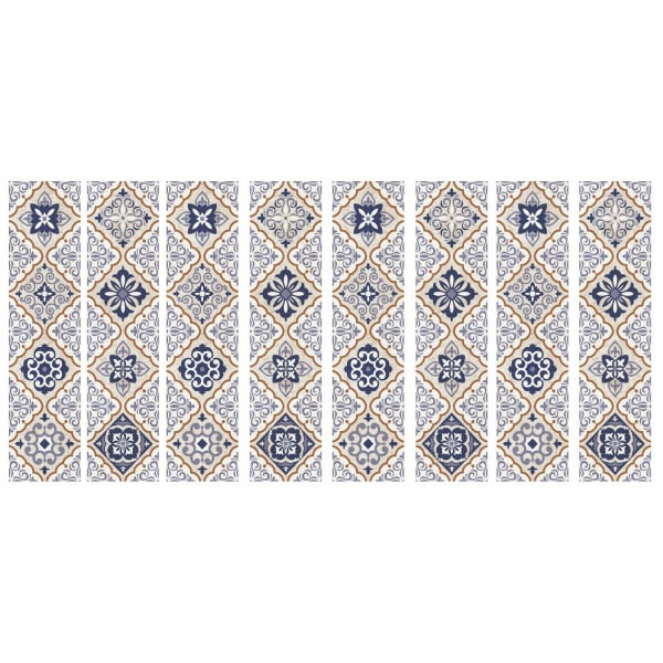 Mexican Tiles Peel And Stick Giant Wall Decals