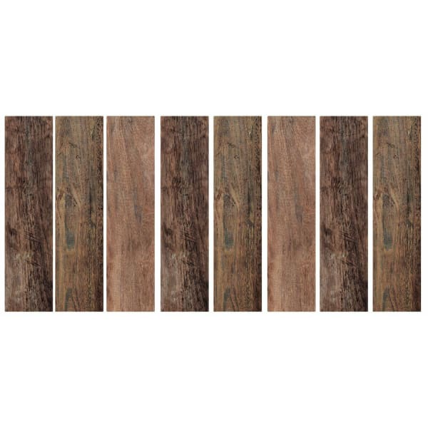 Brown Barn Wood Plank Peel And Stick Giant Wall Decals