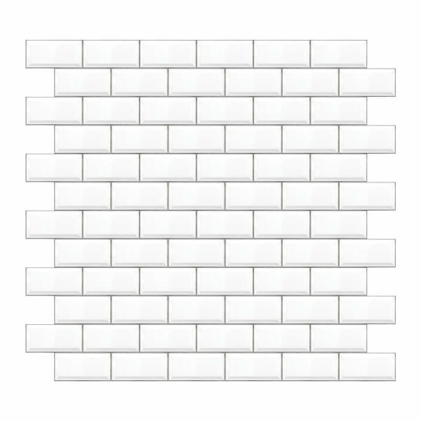 Subway Tile Peel And Stick Giant Wall Decals