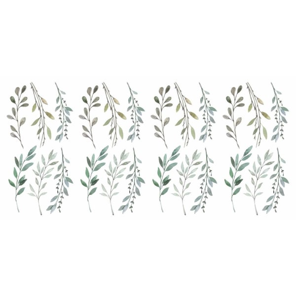 Country Leaves Peel And Stick Wall Decals