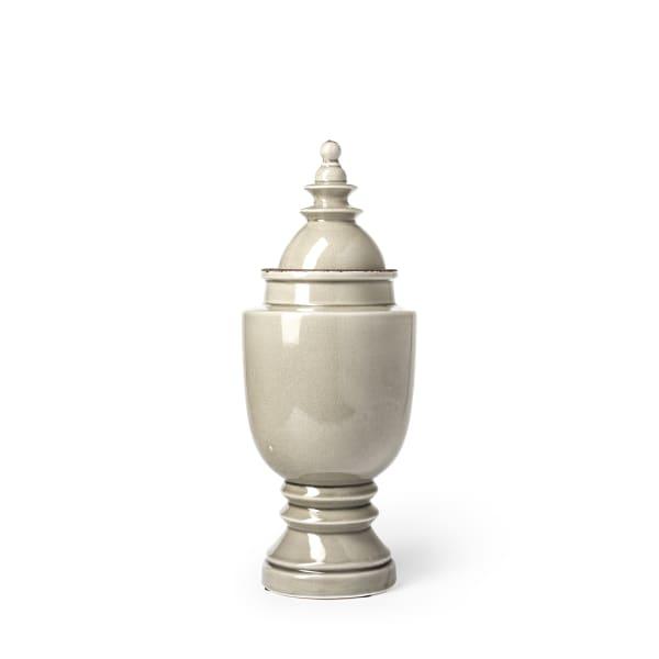 Branigan I Gray Small Ceramic Urn
