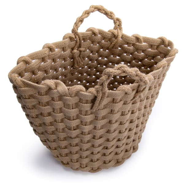 Jute Natural Storage Basket