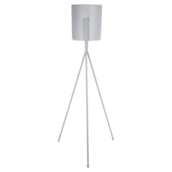 White with Stand Floor Planter