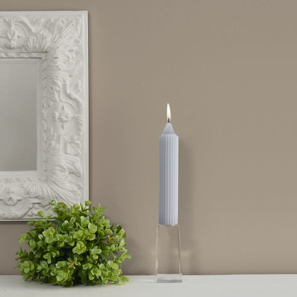 Grecian Platinum Collenette Set of 4 Unscented Candles