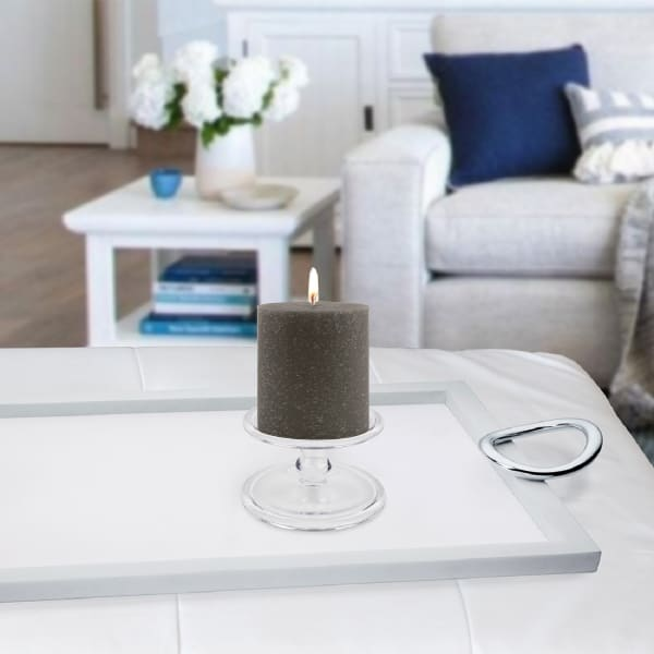 Timberline Stone Pillar Unscented Candle