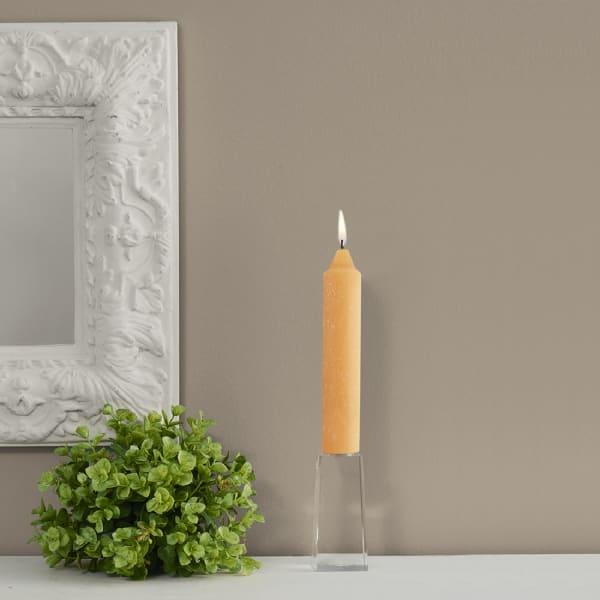 Timberline Mandarin Collenette Dinner Set of 4 Unscented Candles