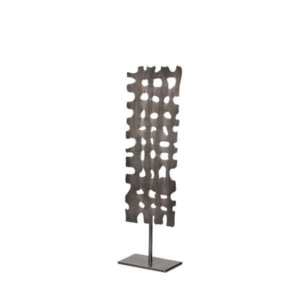Shaw I Small Gray Rectangular Decorative Object