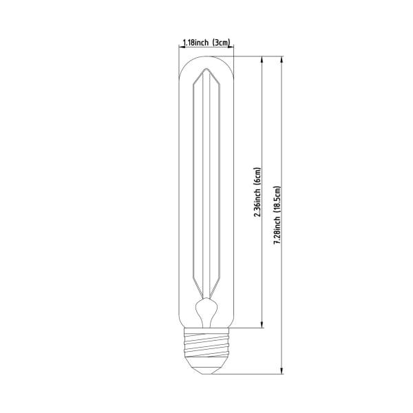 Filament E26 40W Bulb