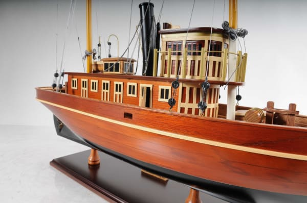 Seguin Tug Boat Model Sculpture