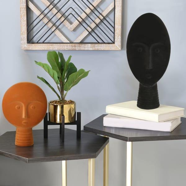 Black Velvet Face Tabletop