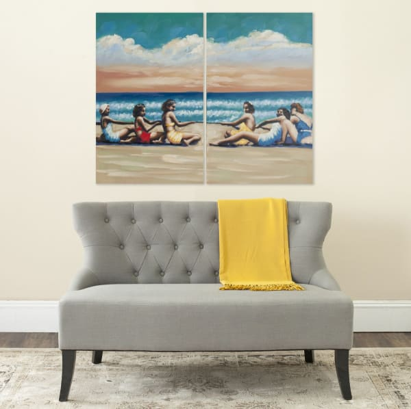 Swim Competition Diptych Wall Art