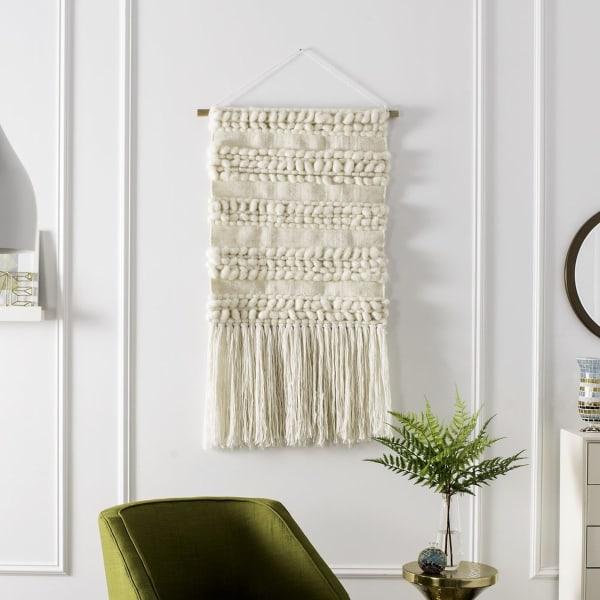 Sedona Woven Ivory Wall Art