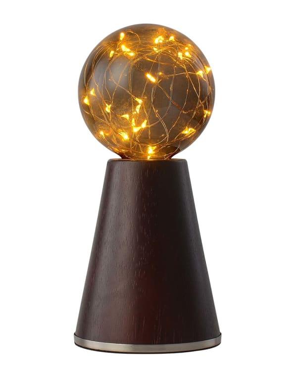 Eagle Rock Walnut Satin Accent Lamp