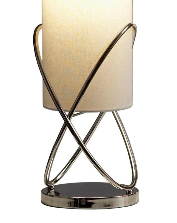 Internal Chrome Table Lamp
