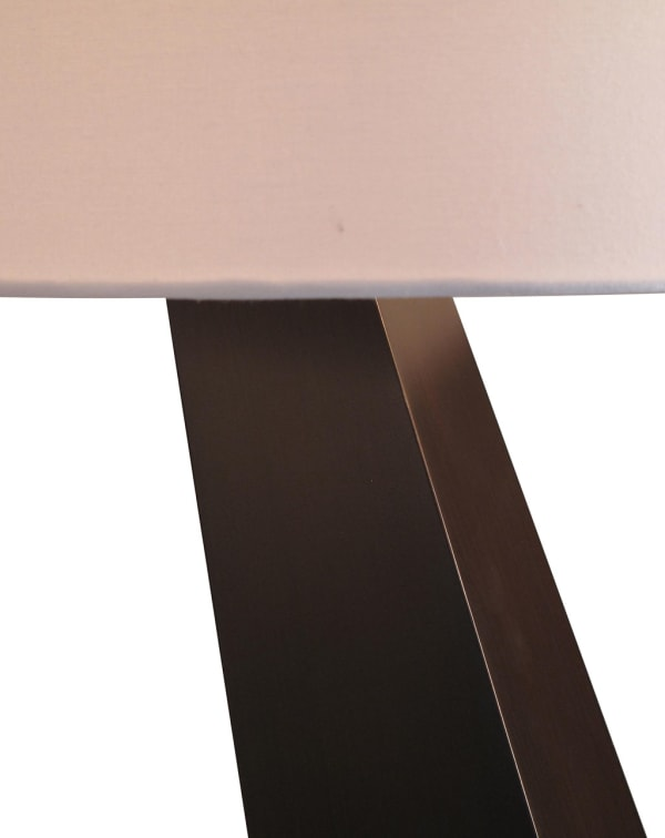 Obelisk Chestnut Table Lamp