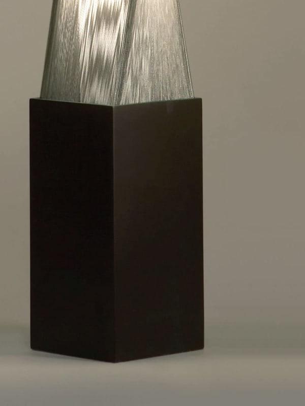 Torque Accent Silver Floor Lamp