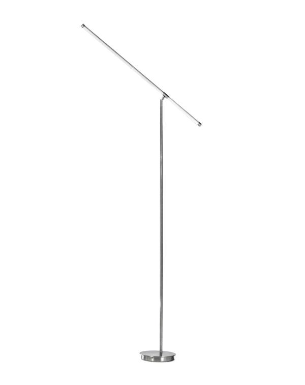 Sentry Satin Nickel Floor Lamp