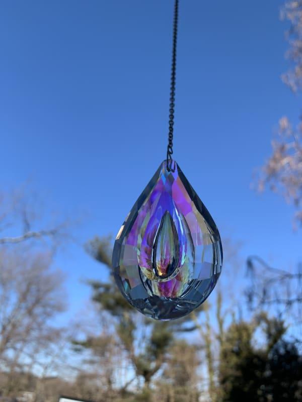 Crystal Prism Large Outdoor Suncatcher