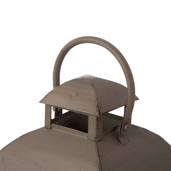 Set of 2 Mondern Farmhouse Wooden Lantern