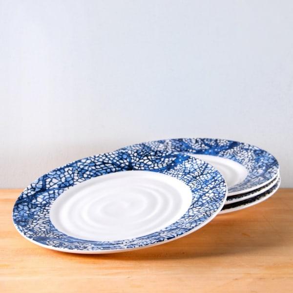 "PIER 1 IMPORTS TULIP IRONSTONE DINNER PLATE 11/"" NWOB"
