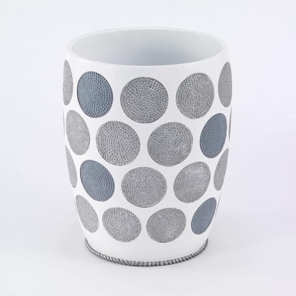 Dotted Circles Wastebasket
