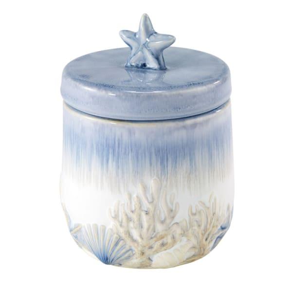 Abstract Coastal Jar