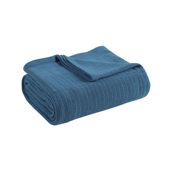 Avanti Fiesta Blue Full Queen Blanket
