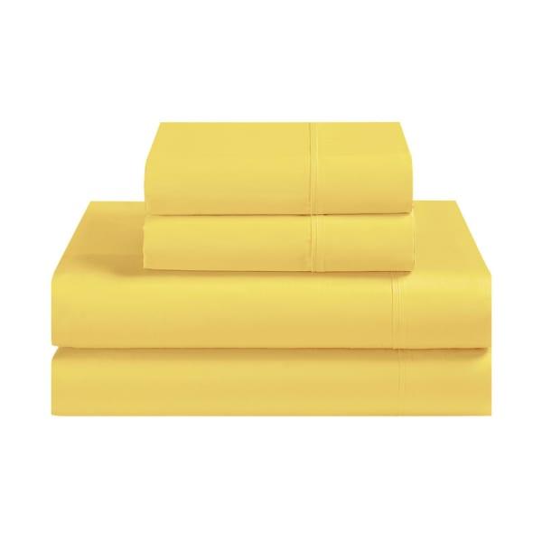 Avanti Fiesta Yellow Full Sheet Set