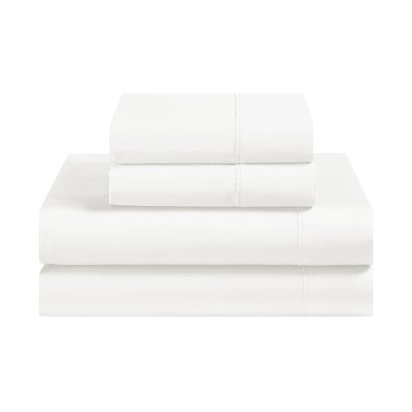 Avanti Fiesta White Queen Sheet Set