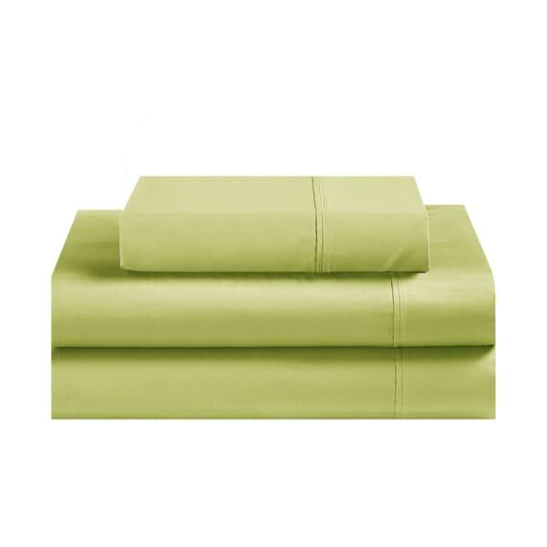 Avanti Fiesta Lemongrass Green Twin Sheet Set