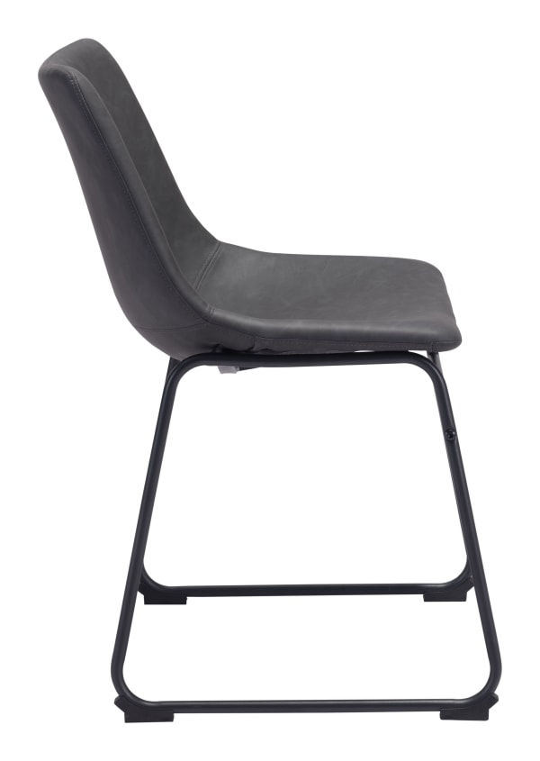 Smart Charcoal Set of 2 Dining Chairs