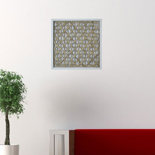 Natural Light Wood And Glass Shadow Box