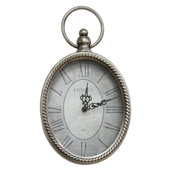 Vintage Oval Wall Clock