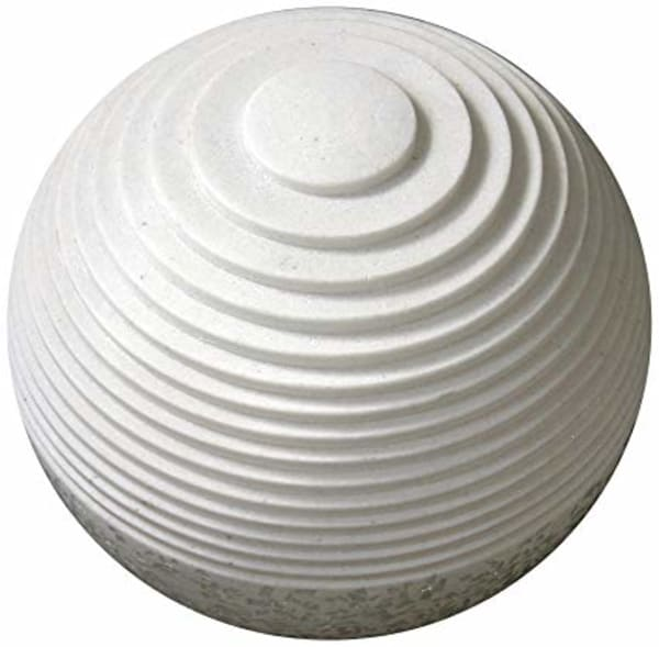 White Round Outdoor Light