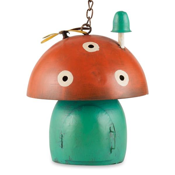 Red Mushroom Birdhouse