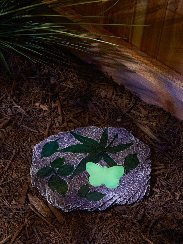 Butterfly Glowing Stepping Stone