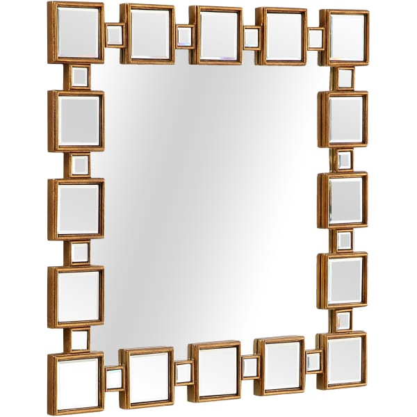 Orion Wall Mirror and Console Table