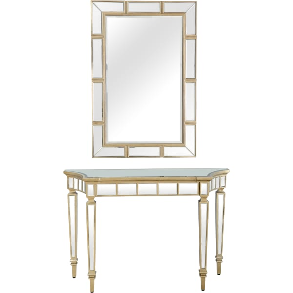 Phoebe Wall Mirror and Console Table