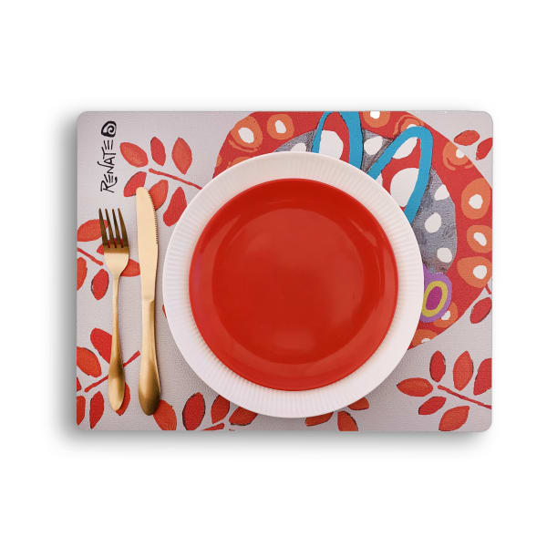 Passion Faux Leather Set of 4 Placemats