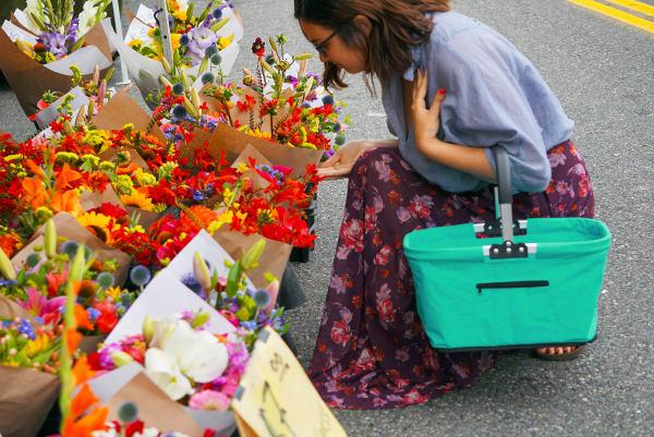 Turquoise Market Basket