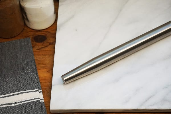 French Stainless Steel Rolling Pin