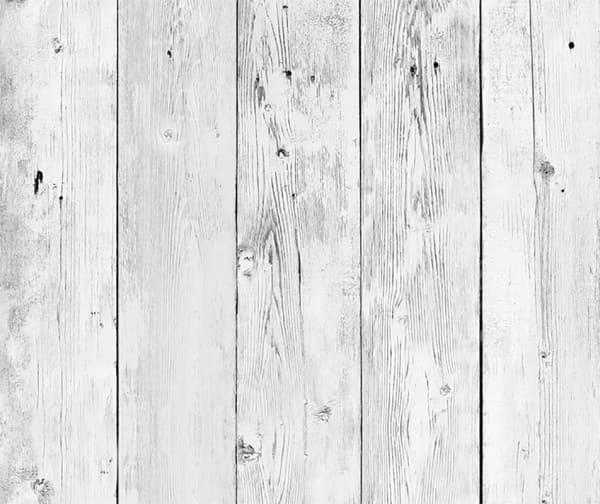 White Wood Backsplash