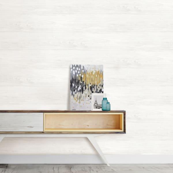 Reclaimed Shiplap Peel and Stick Wallpaper