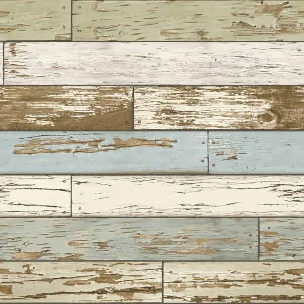 Old Salem Vintage Wood Peel and Stick Wallpaper