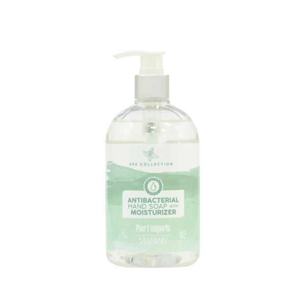 Pier 1 Spa Collection Rosemary & Mint Antibacterial Soap 15oz