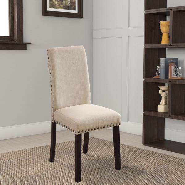 Dodson I Transitional Side Chair, Black, Set of 2