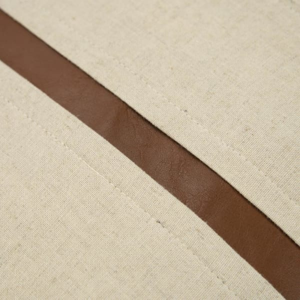 Leather Stripe and Cotton 20