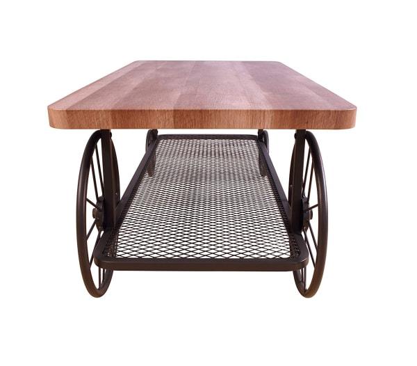 Modish Coffee Table, Oak & Antique Gray