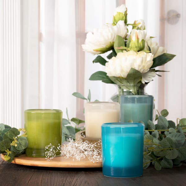 Pier 1 Sea Grass Boxed Soy Candle 8oz